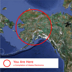 Various - 'You Are Here: a Compilation of Alaska Electronics'